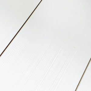 12mm Modern Pearl White Laminate Wood Flooring