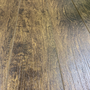 12mm Value Pad Attached Ash Brown Laminate Wood Flooring