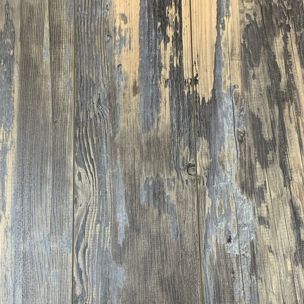 Load image into Gallery viewer, 8mm Pad Attached Driftwood Laminate Wood Flooring