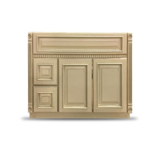 "32.5"" High - Old Height Vanity - VA6-Fluted Heritage Oldetown-V3021DH Left"