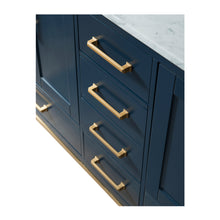 Load image into Gallery viewer, 72 Inch Wide Double Sink 1831 Blue