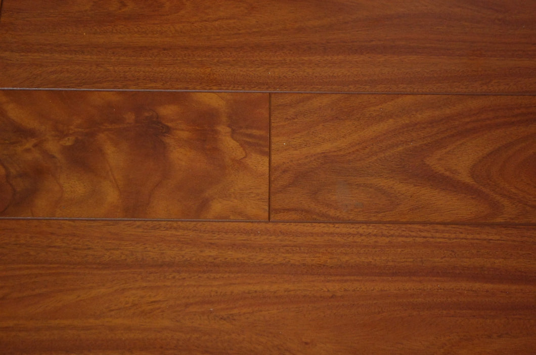Laminate Wood Stair Tread - Brazilian Cherry