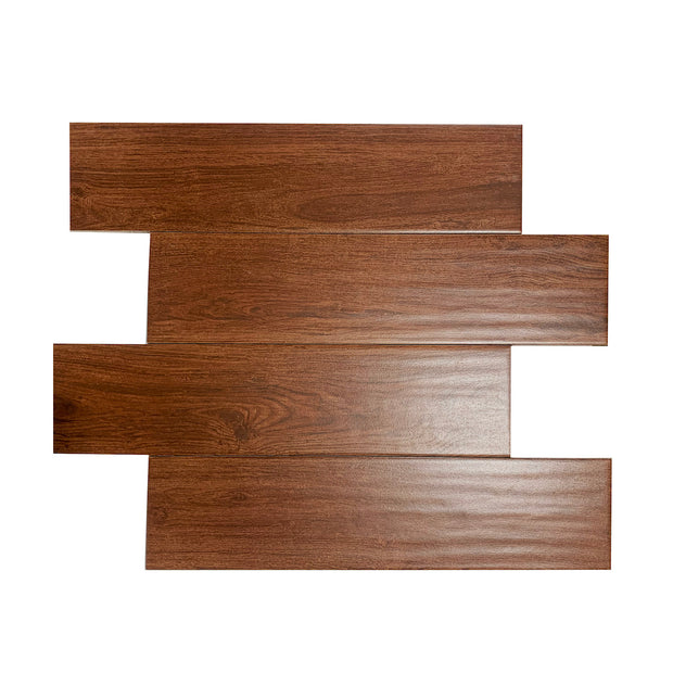 Load image into Gallery viewer, Porcelaine Tile - Serso Mahogany