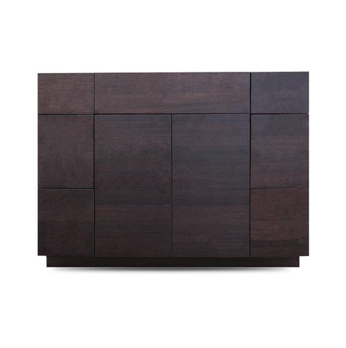 42 Inch Bathroom Cabinet Vanity African Wenge LEFT/Right  Drawers