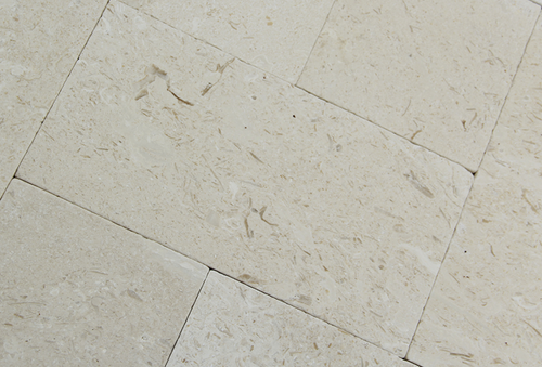 French Pattern Travertine Paver Shell Stone