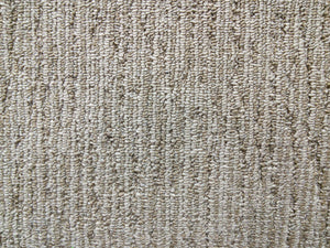 Beige Stripe Commercial Berber Carpet - CAR1061