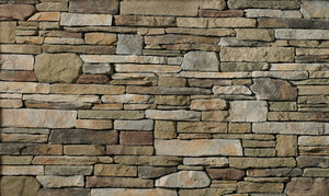 Bucks County Southern Cultured Ledger Stone