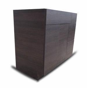 36 Inch Bathroom Cabinet Vanity African Wenge Right  Drawers