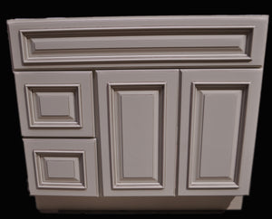 "32.5"" High - Old Height Vanity - VA3-Oldtown-V4221D Left"