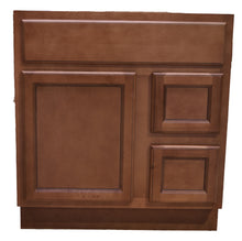 Load image into Gallery viewer, 30 Inch Bathroom Cabinet Vanity Flat Panel Ginger Right Drawers