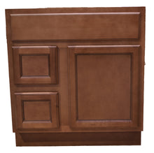 Load image into Gallery viewer, 30 Inch Bathroom Cabinet Vanity Flat Panel Ginger Left Drawers