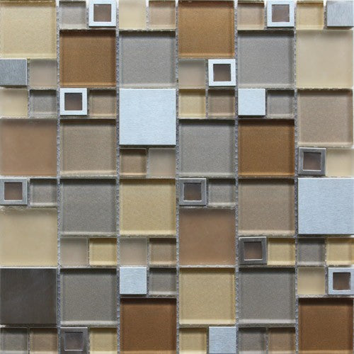 Stainless GDS-002D 12x12 Mosaic Tile
