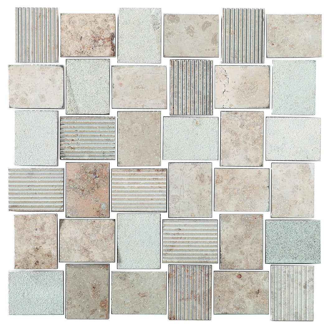WaterJet RC1606P 10x11 Mosaic Tile