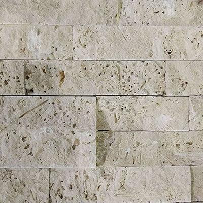 Split Face Ivory  Travertine