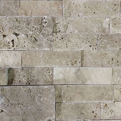 Split Face Noce  Travertine