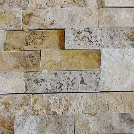 Split Face Scabos  Travertine