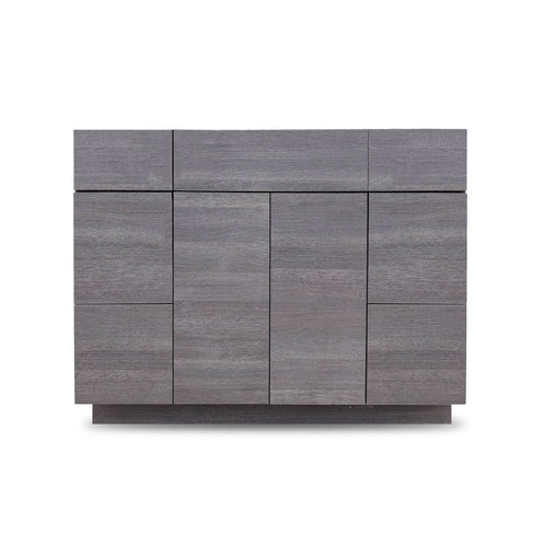 42 Inch Bathroom Cabinet Vanity Strand Grey LEFT/Right  Drawers
