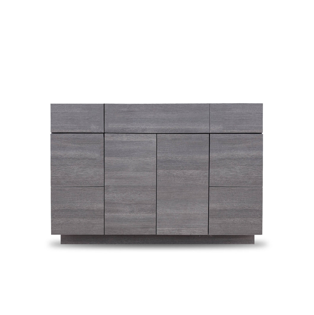 48 Inch Bathroom Cabinet Vanity Strand Grey LEFT/Right  Drawers
