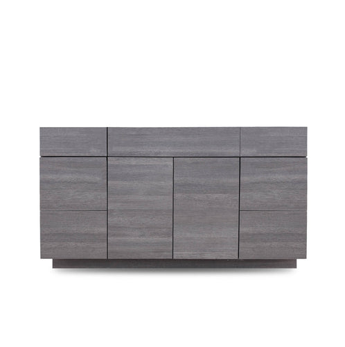 60 Inch Bathroom Cabinet Vanity Strand Grey LEFT/Right  Drawers