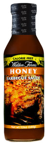 WF Honey BBQ Sauce Bottle