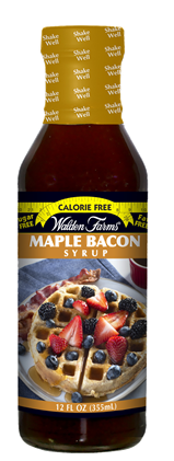WF Maple Bacon Syrup Bottle