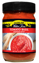 Load image into Gallery viewer, WF Tomato Basil Marinara Sauce Bottle