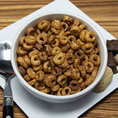 Chocolate Peanut Butter O's Cereal
