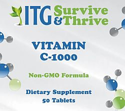 Vitamin C-1000MG (50 Tablets)