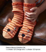 Load image into Gallery viewer, Knitted Animal Scarves, Mitts and Socks by Fiona Goble