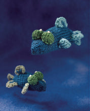 Load image into Gallery viewer, Mini Knitted Ocean by Sachiyo Ishii