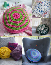 Load image into Gallery viewer, Crocheted Cushions by Susie Johns