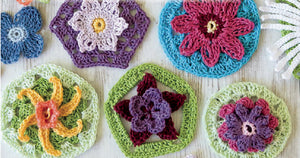 20 To Make: Granny Square Flowers