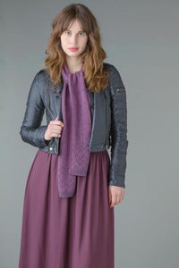 Knitted Scarves & Shrugs by Sarah Hatton