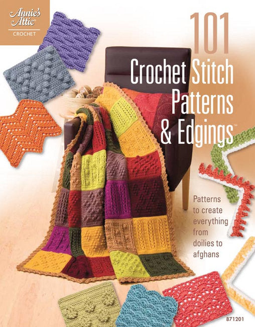 101 Crochet Stitch Patterns & Edgings by Connie Ellison