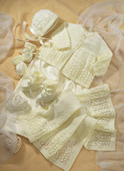 Sirdar Pattern 1662: Premature Baby Clothes in 4 ply