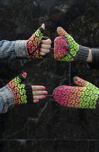 Load image into Gallery viewer, Wild Mittens & Unruly Socks by Lumi Karmitsa