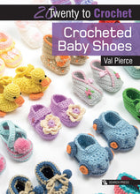Load image into Gallery viewer, 20 To Make: Crocheted Baby Shoes
