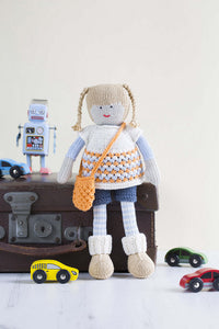 My Knitted Doll by Louise Crowther