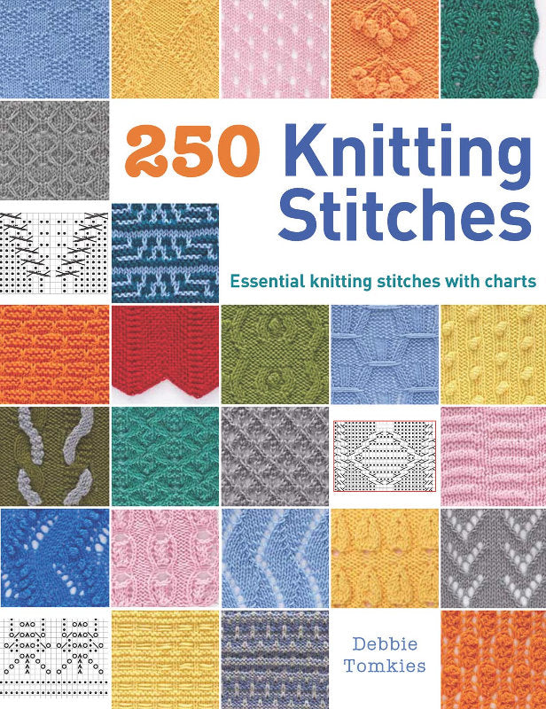 250 Knitting Stitches by Debbie Tomkies