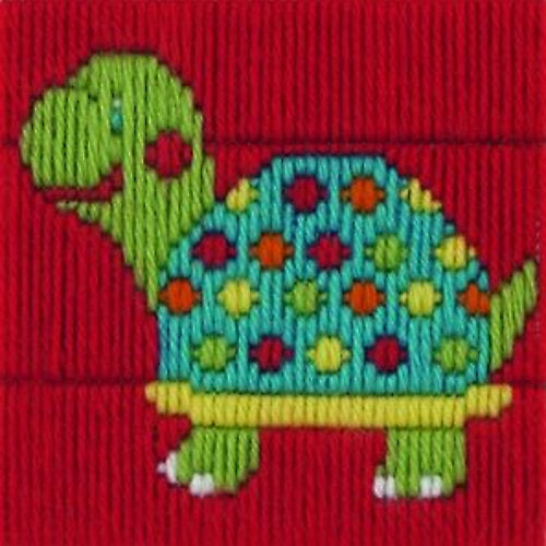 Anchor 1st Long Stitch Kit: 30017 Turtle