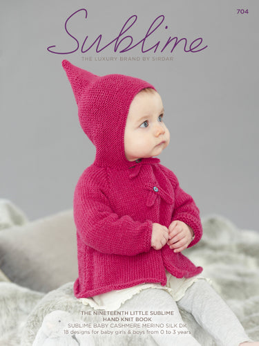 Sublime Booklet 704: 19th Baby Cashmere Merino Silk DK Book