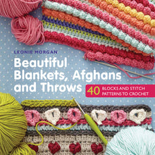 Load image into Gallery viewer, Beautiful Blankets, Afghans and Throws by Leonie Morgan