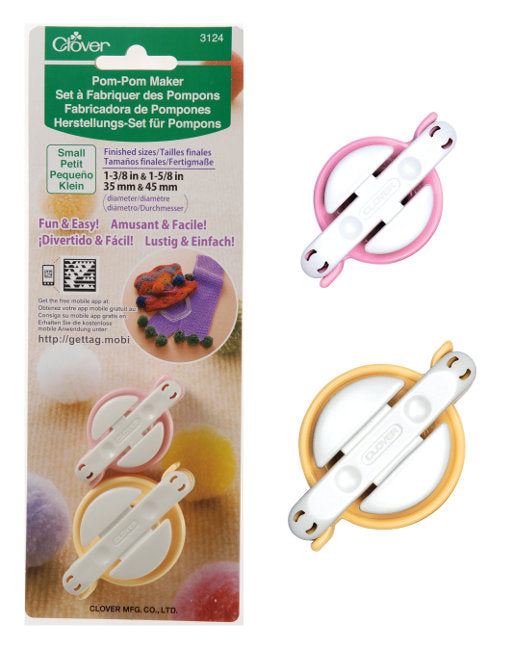 Clover Pom Pom Maker: CL3124 Small