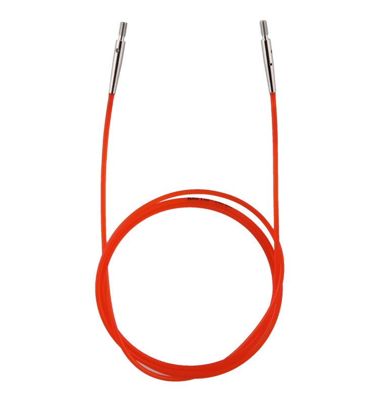 KP10635 KnitPro Interchangeable Cable 100cm Red