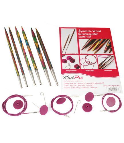 KP20604 KnitPro Symfonie Interchangeable Needle Starter Set