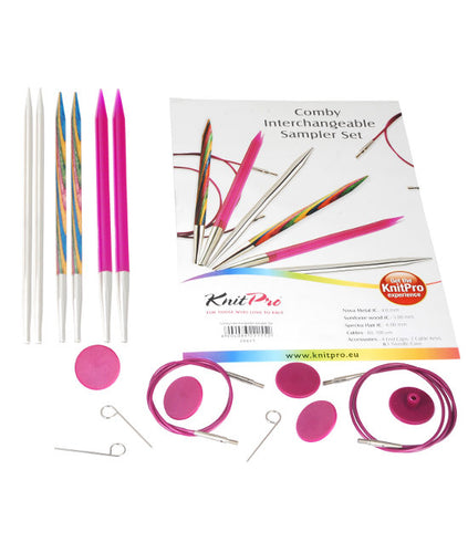 KP20621 KnitPro Combi Interchangeable Needle Sampler Set I