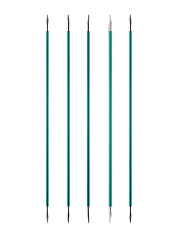 KP47006 KnitPro Zing 15cm Double Pointed Needles: 3.25mm
