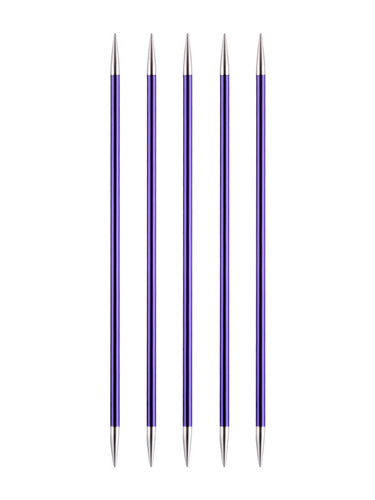 KP47008 KnitPro Zing 15cm Double Pointed Needles: 3.75mm