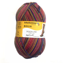 Load image into Gallery viewer, Regia 4 Ply Design Line by Kaffe Fassett 100g