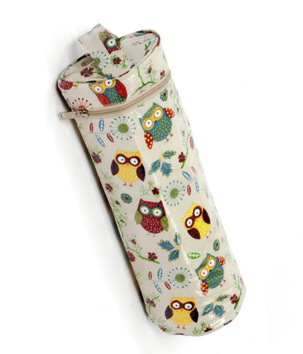 Yarn and Needle Holder MRYH\29: Owl Print